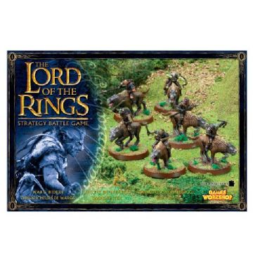 Games Workshop Warhammer The Lord Of The Rings Warg Riders 06-30